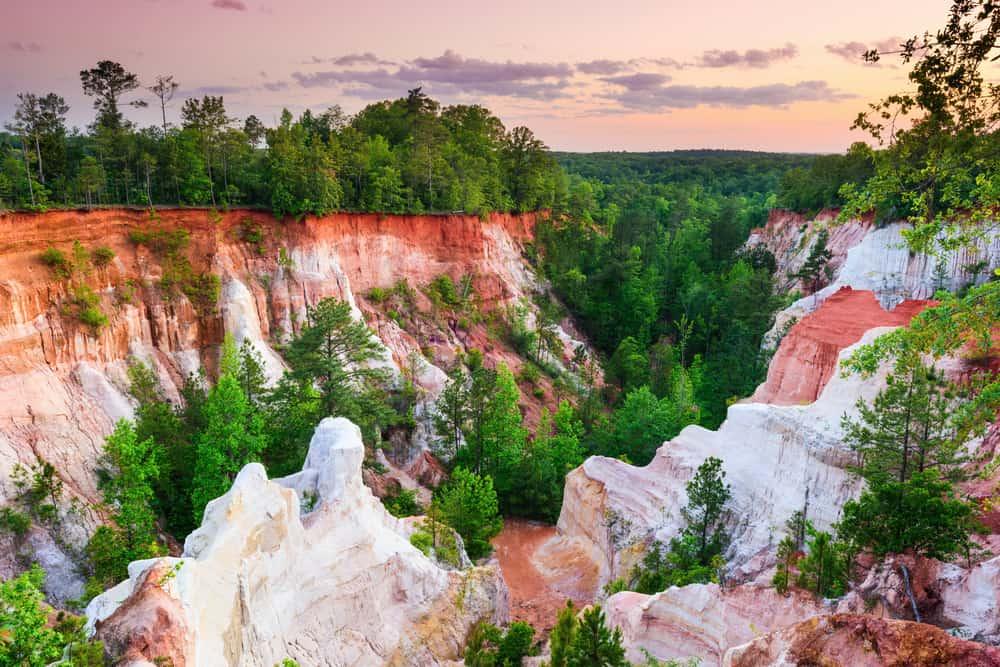 Providence canyon Georgia