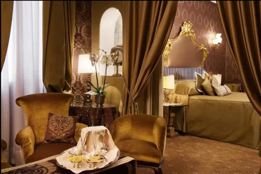 Romantic accommodation in Venice