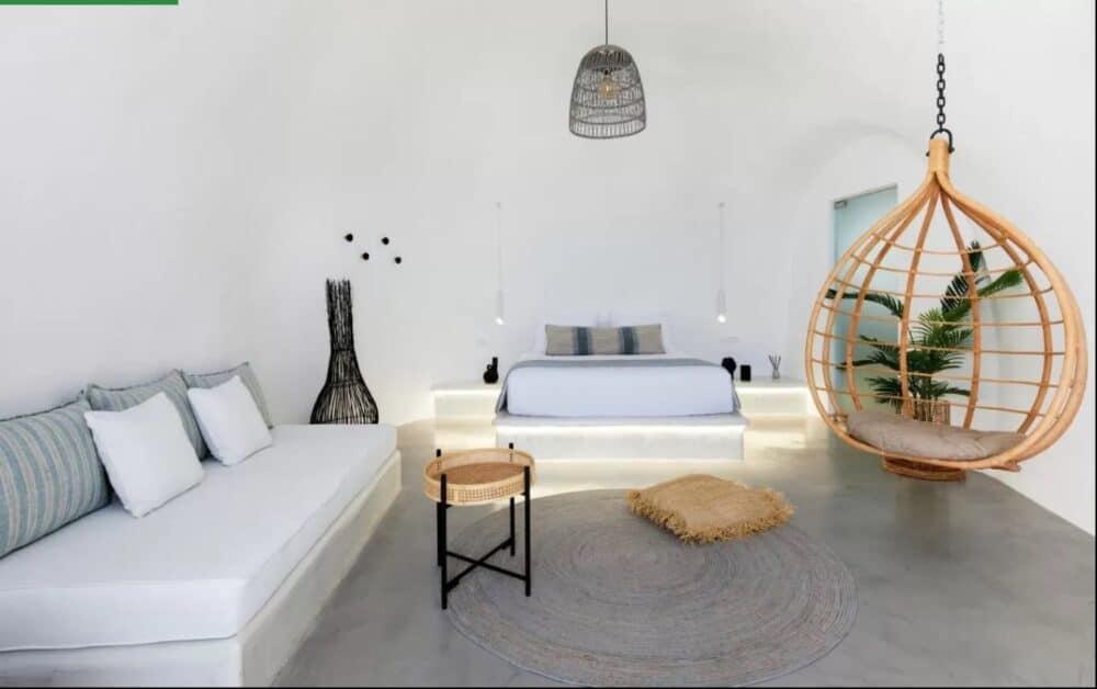 Romantic holiday in Santorini