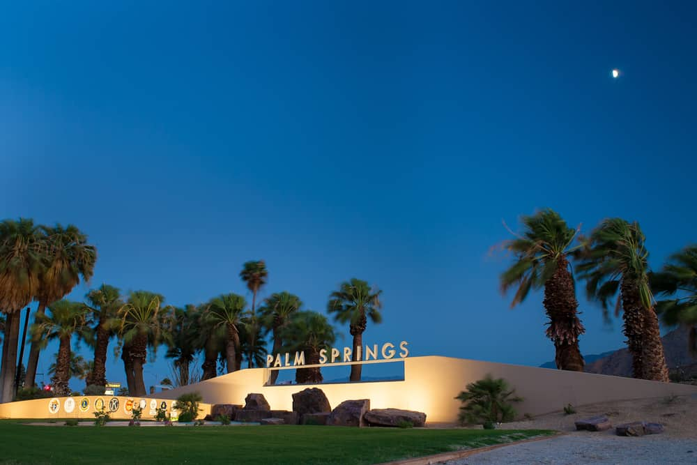 Romantic hotels in Palm Springs
