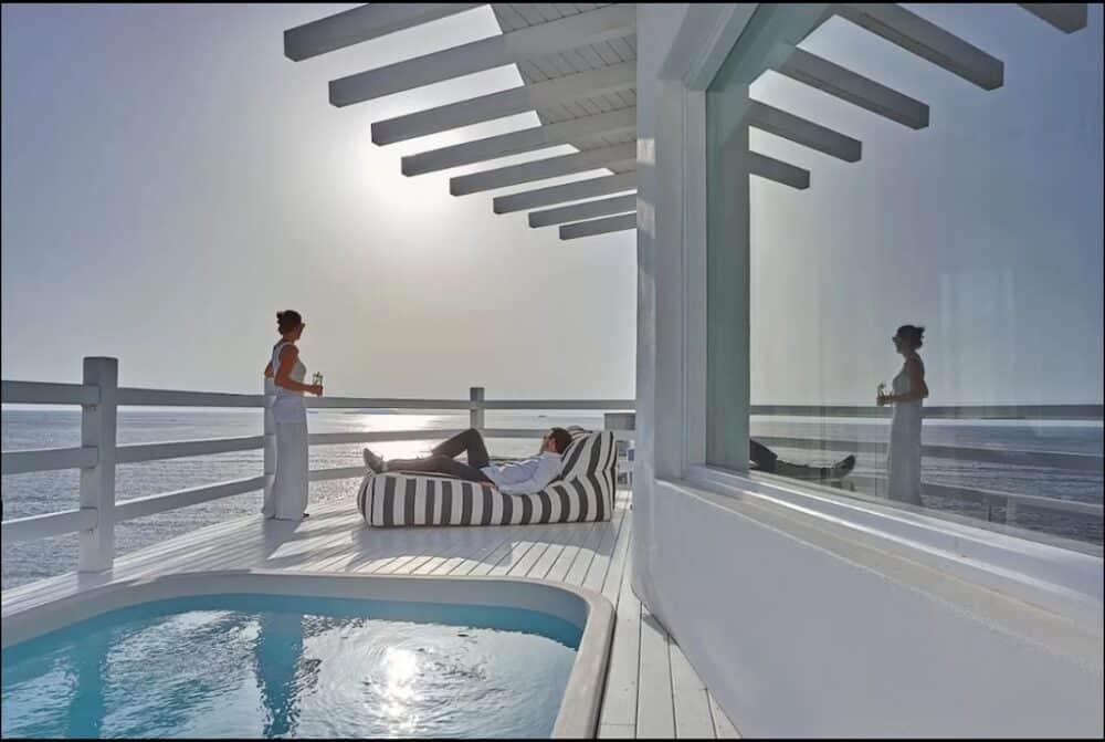 Romantic spa hotels in Santorini
