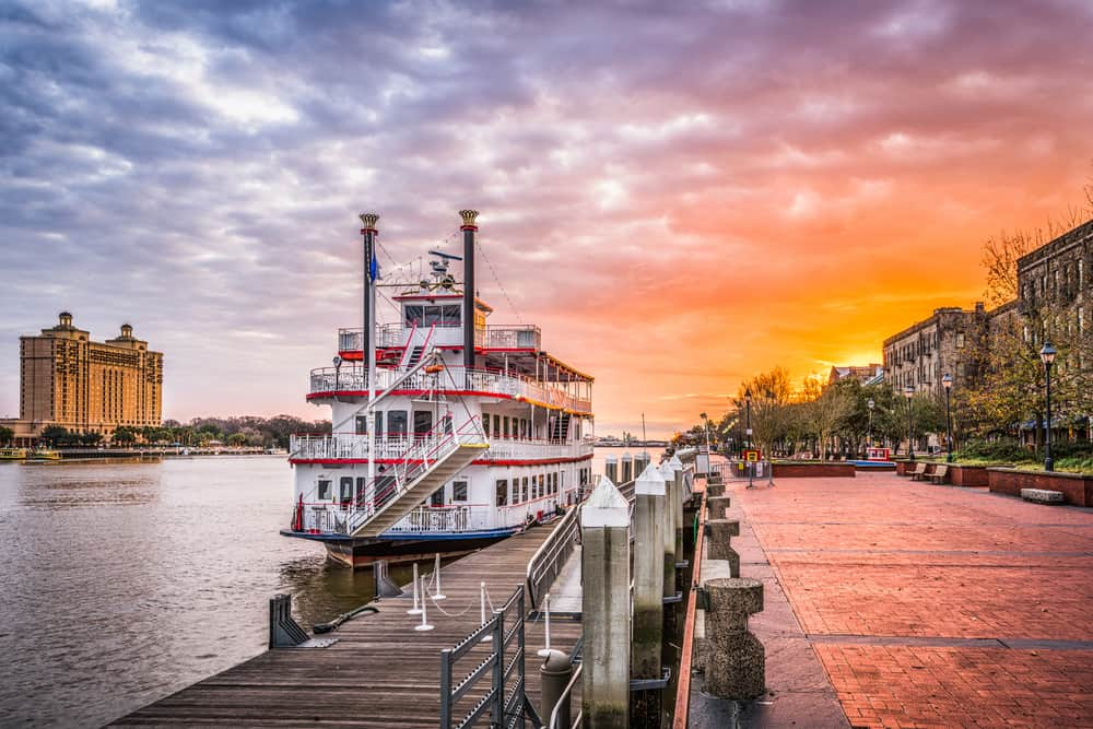 Savannah - best places to visit in USA