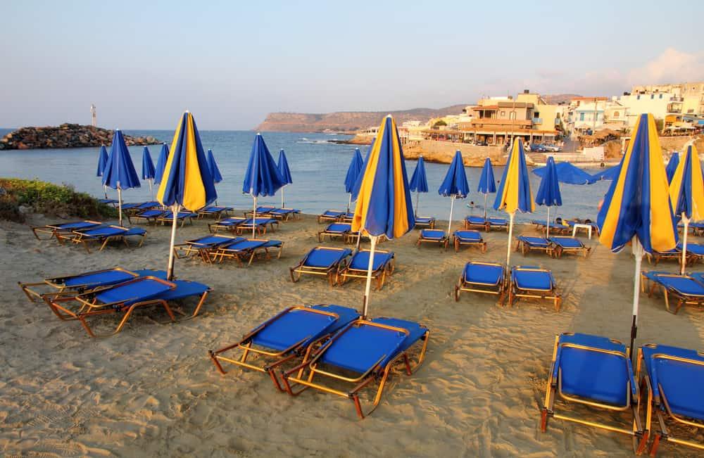 Sissi Crete beach