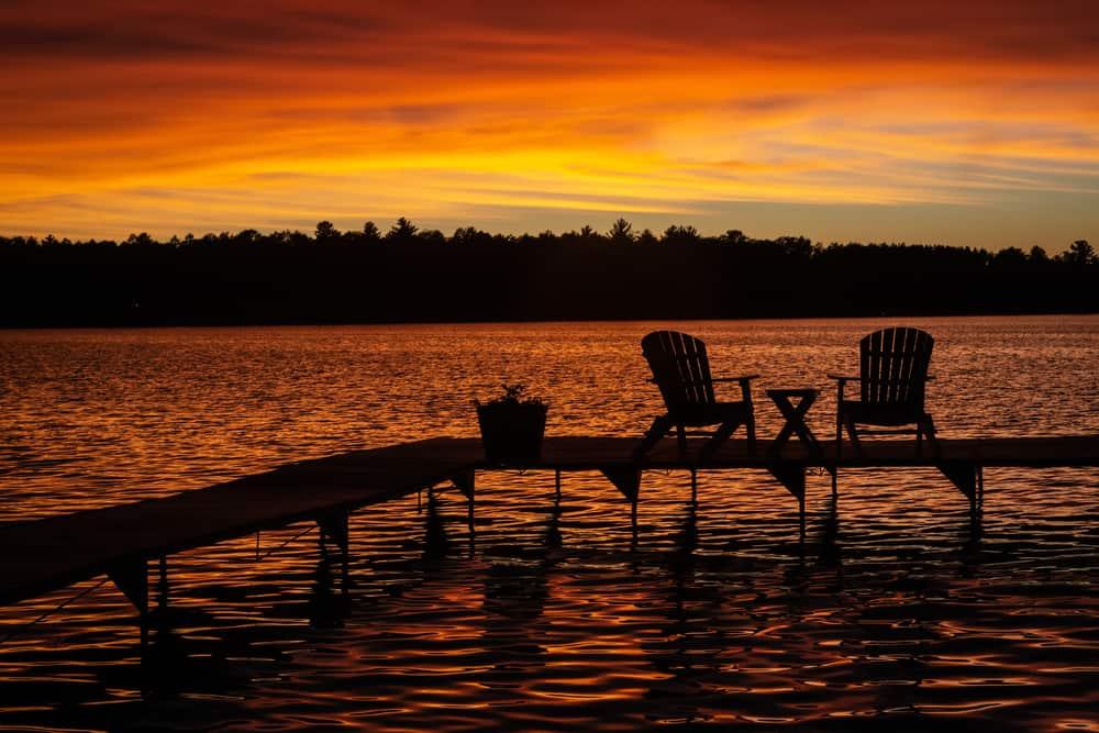 St. Germain - beauty spots in Wisconsin