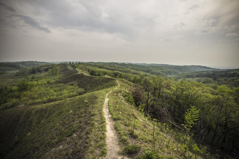 The Loess Hills Trail Road