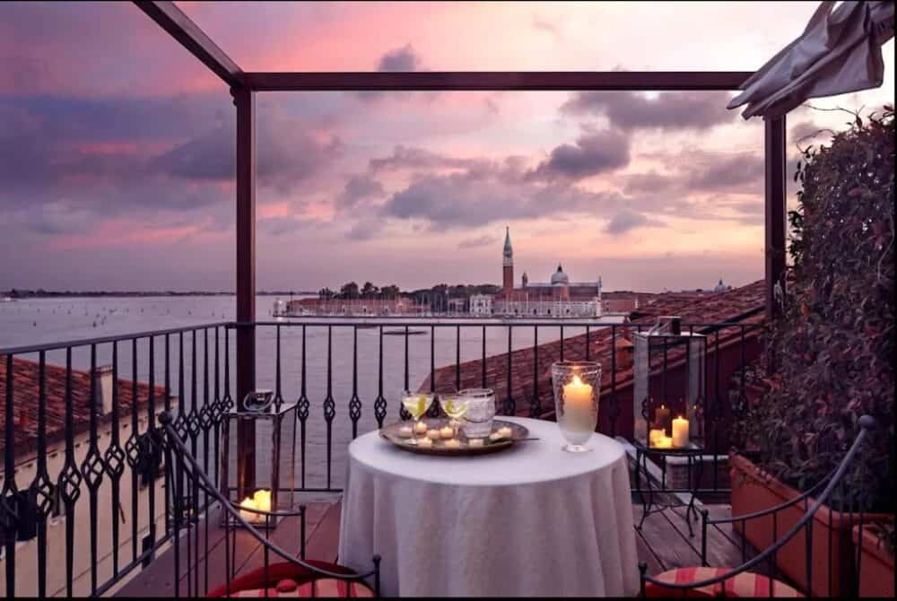 The most romantic hotels in Venice