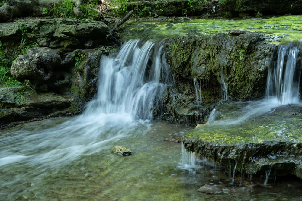 Waterfall Clifty Falls Indiana