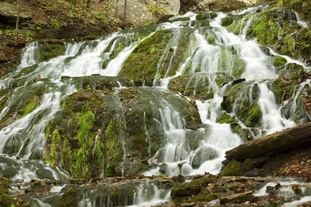 Beautiful iowa Waterfall