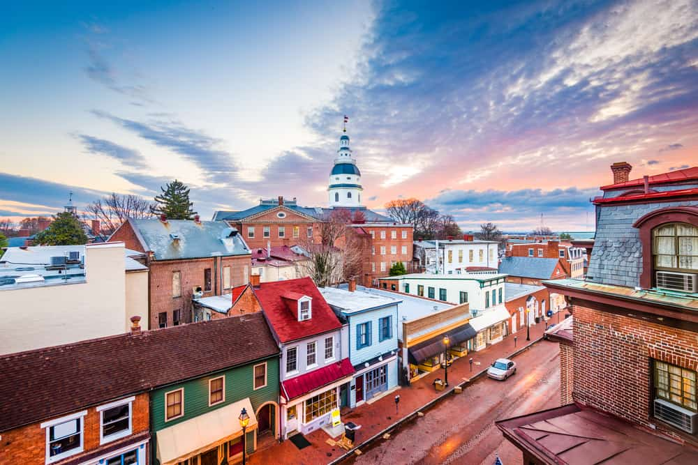 Annapolis - places to visit in Maryland