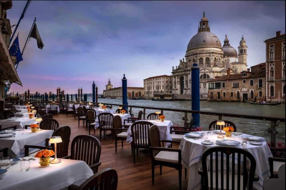 Beautiful romantic hotel in Venice