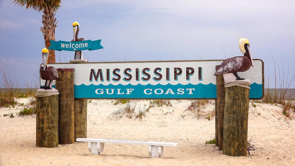 Biloxi - beauty spots in Mississippi