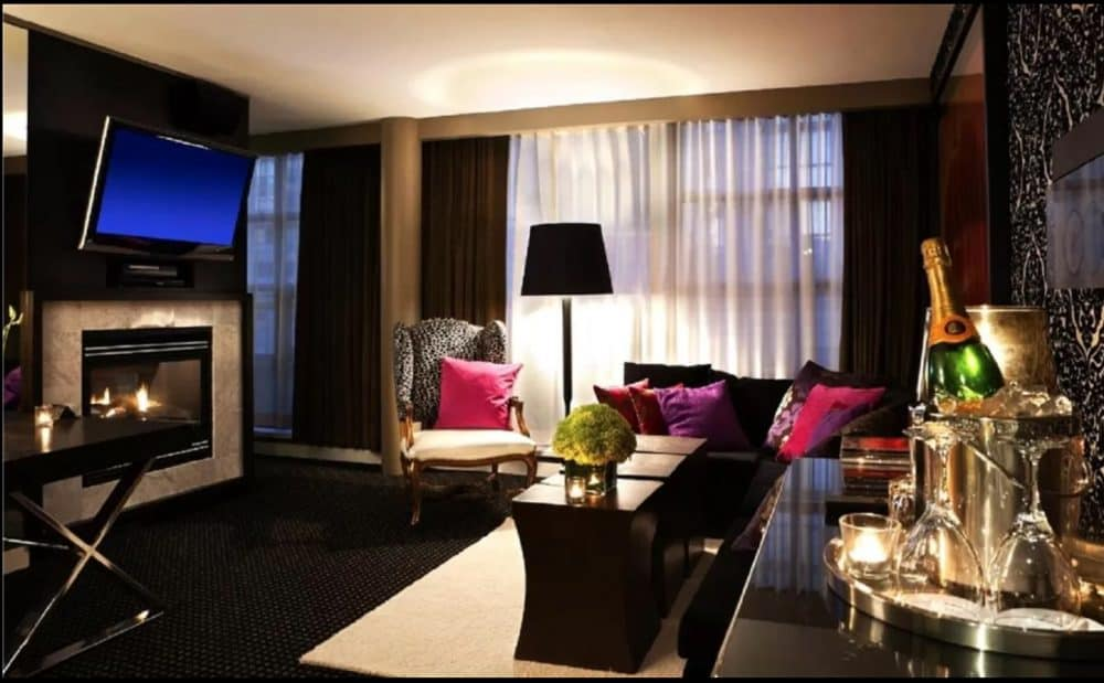 Chic and romantic hotel in Vancouver