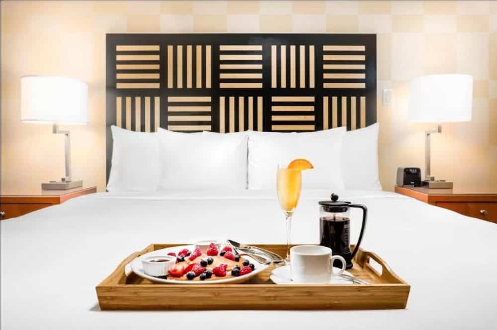 Chic hotel in Vancouver