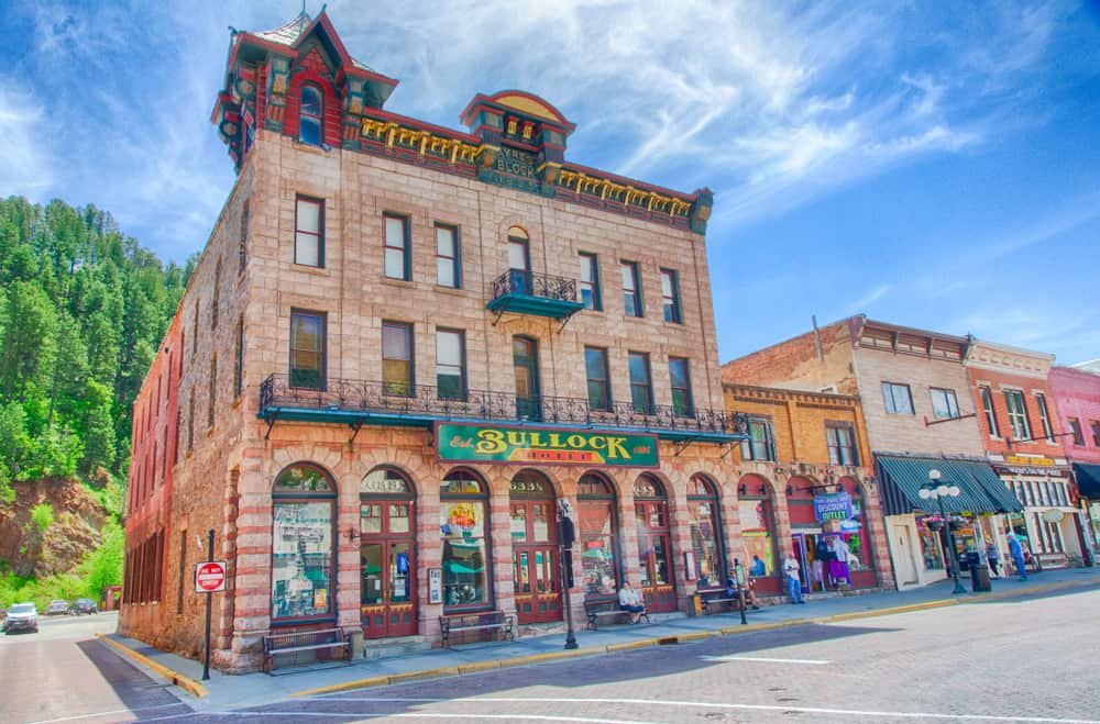 Deadwood - best places to visit in South Dakota