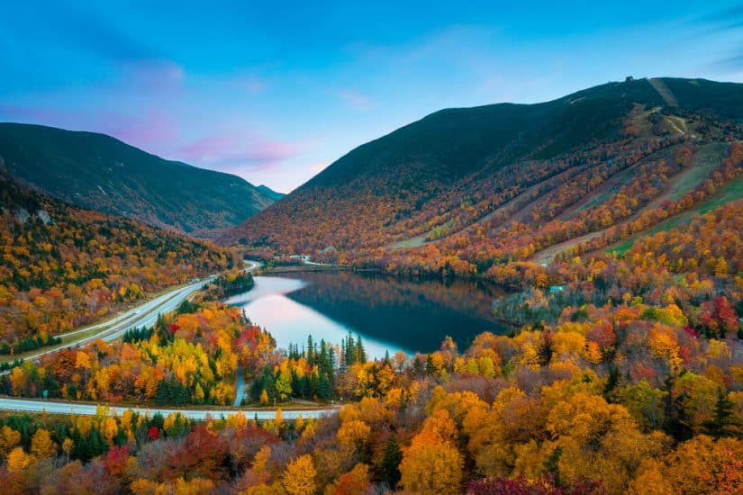 The most beautiful places to visit in New Hampshire