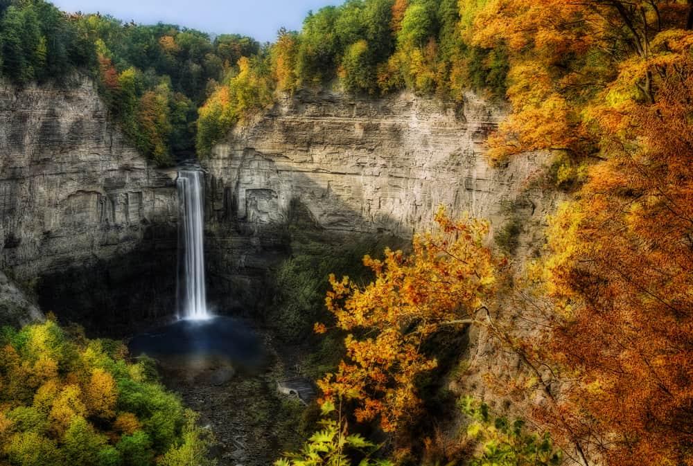 Finger Lakes Region Falls