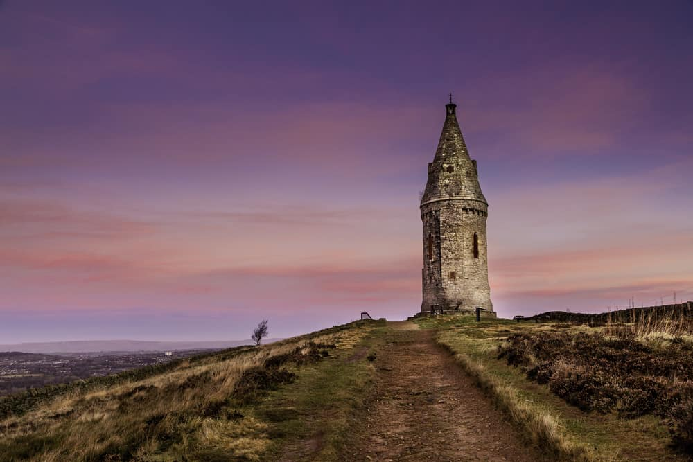 Hartshead Pike - Greater Manchester