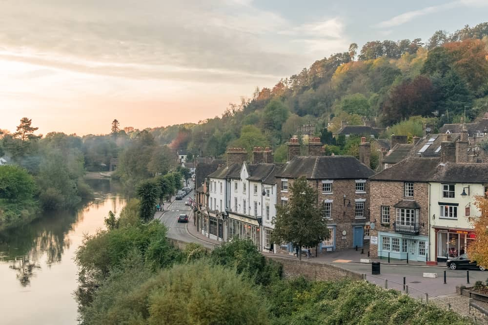 Ironbridge -pretty places to visit in Shropshire