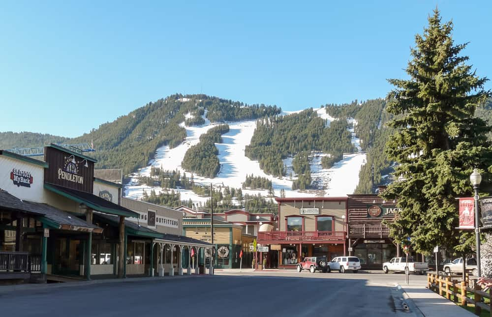 Jackson - beauty spots in Wyoming