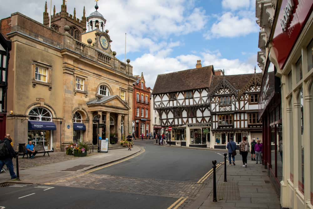 Ludlow - prettiest places to visit In Shropshire