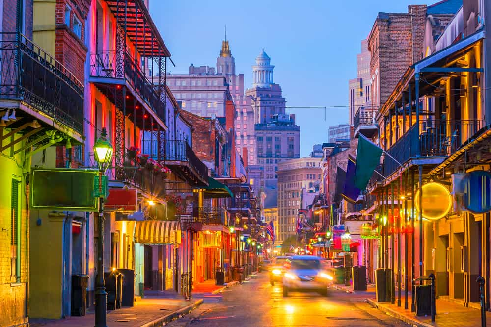 New Orleans - best places to visit in Louisiana