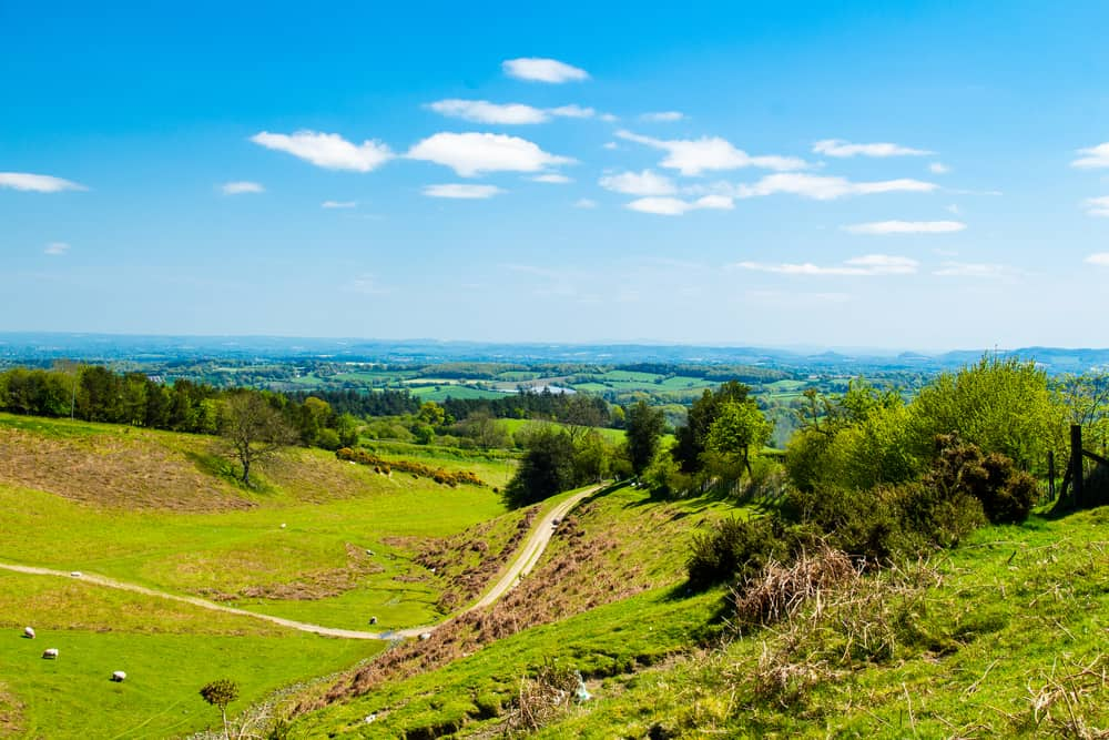 Offa's Dyke - places to explore in Shropshire