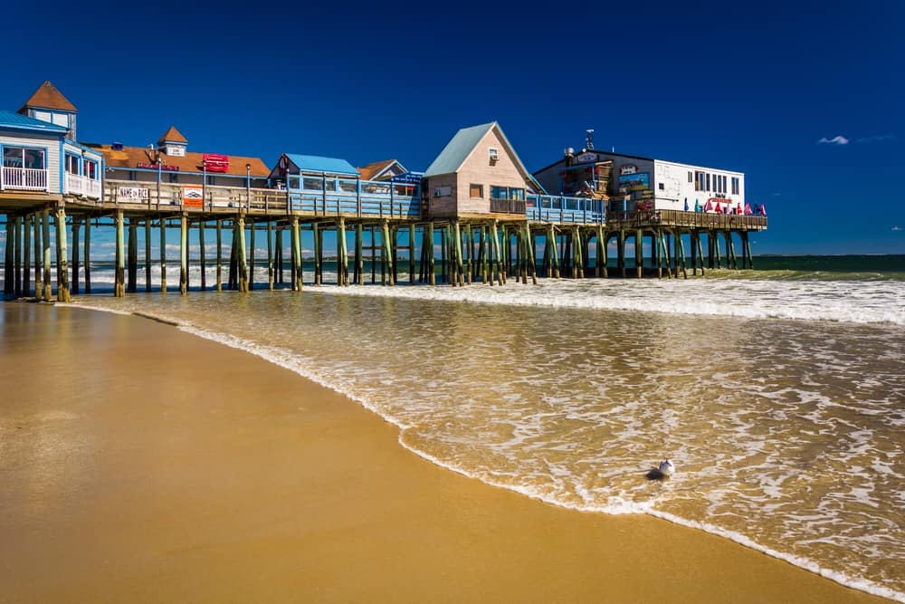 Old Orchard Beach - best places to visit in Maine