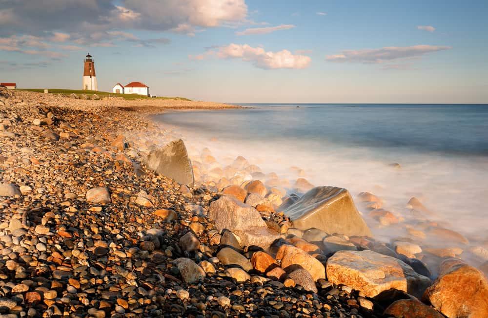 Point Judith Light - beauty spots in Rhode Island