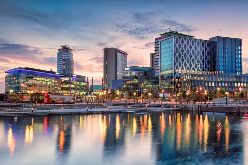 Salford Quays - places to visit in Greater Manchester