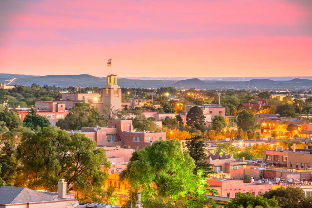 Santa Fe - best places to visit in New Mexico