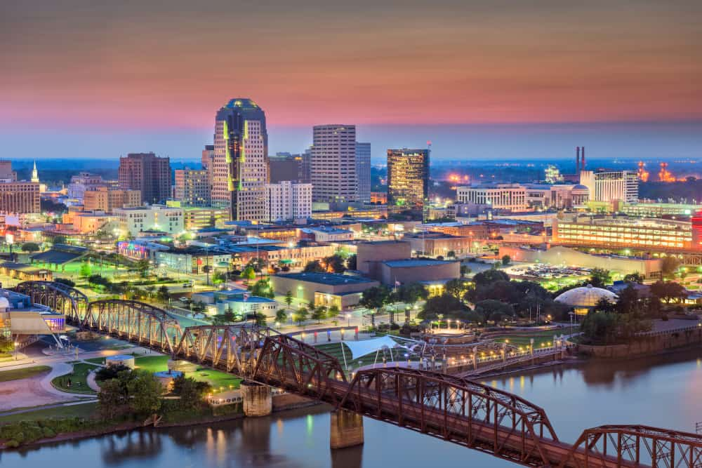 Shreveport Skyline