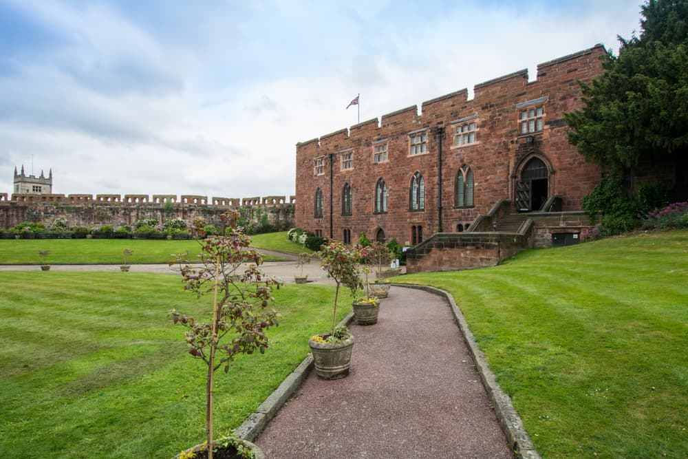 Shrewsbury Castle - best places to visit in Shropshire