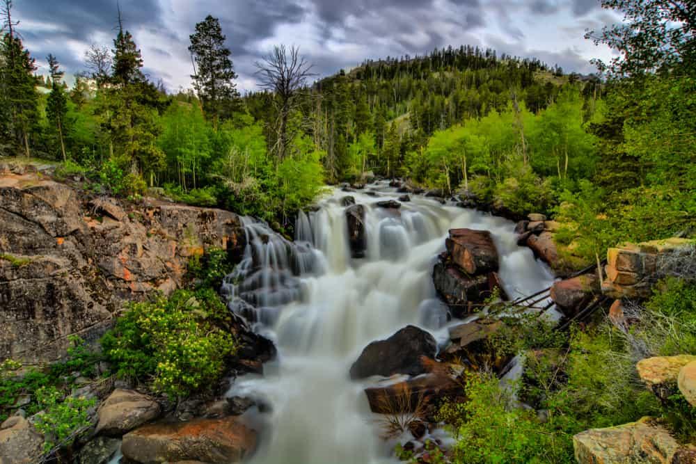 Sinks Canyon Wyoming
