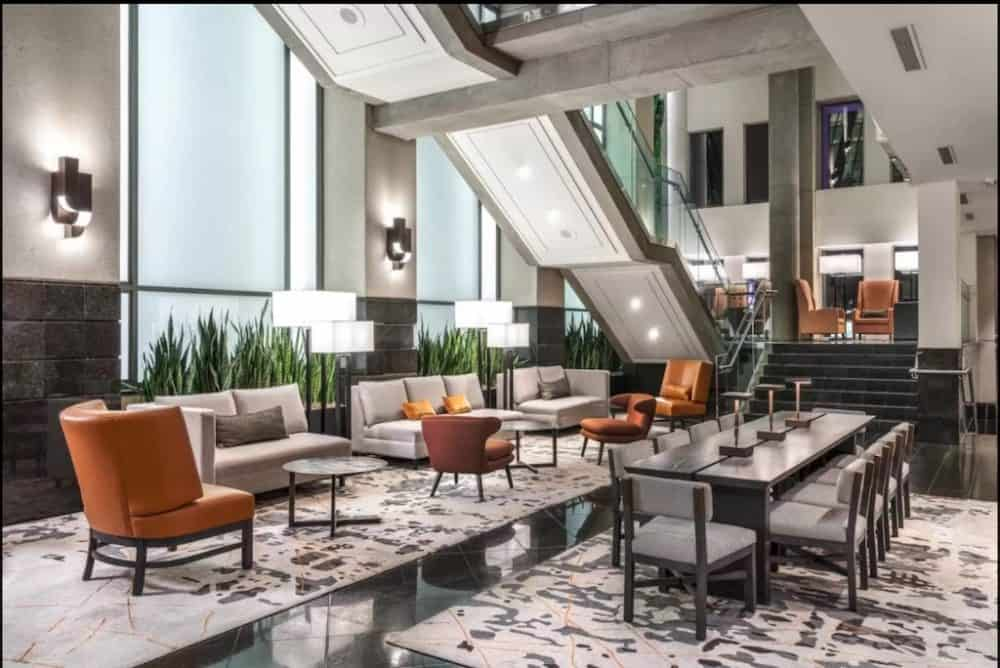 Sleek and sexy hotel in Vancouver