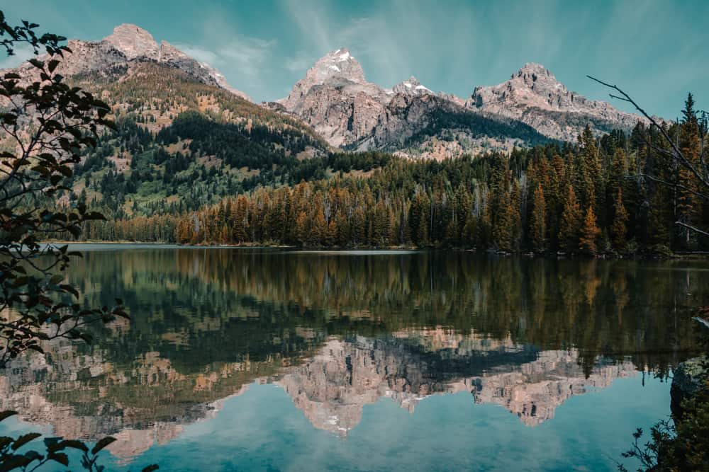 Taggart Lake - most stunning places to visit in Wyoming
