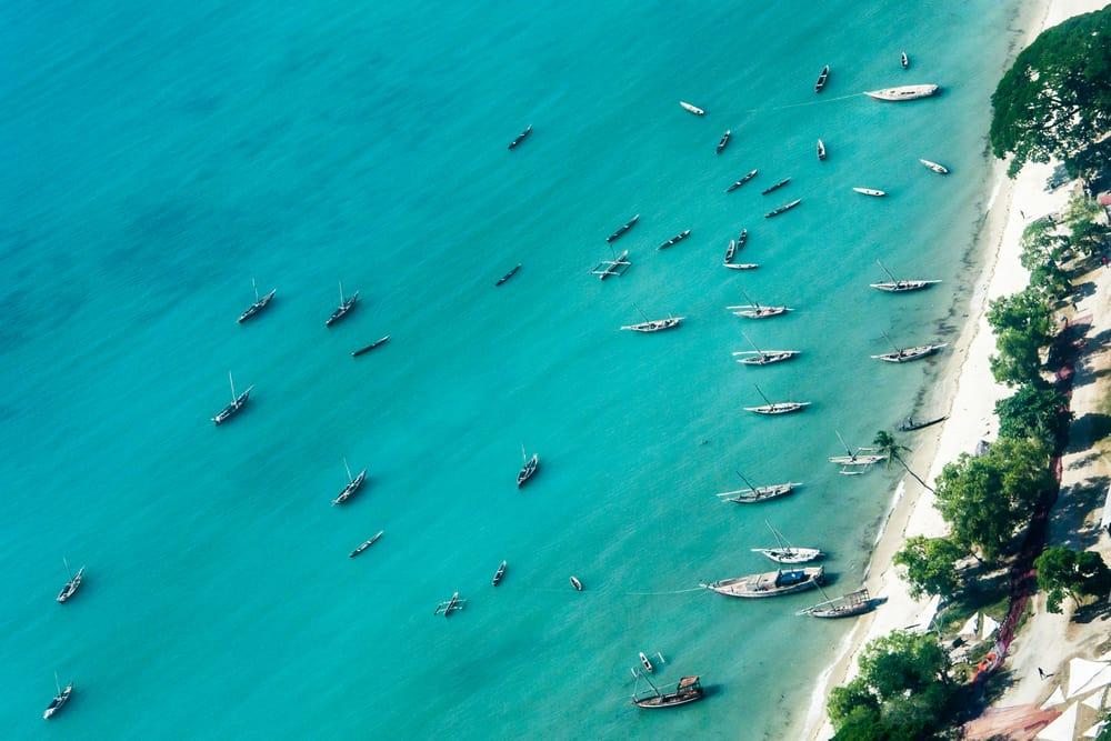 Zanzibar Drone Shot
