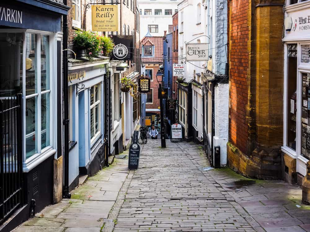 The Christmas Steps Bristol