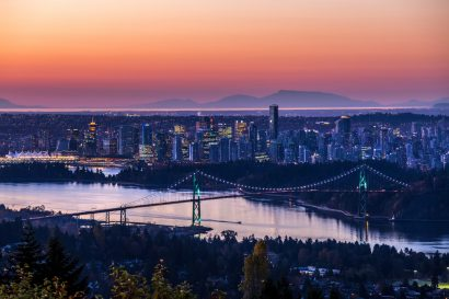 The most romantic hotels in Vancouver