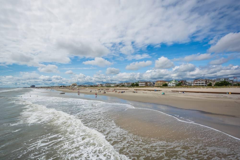 Ventnor Beach New Jersey