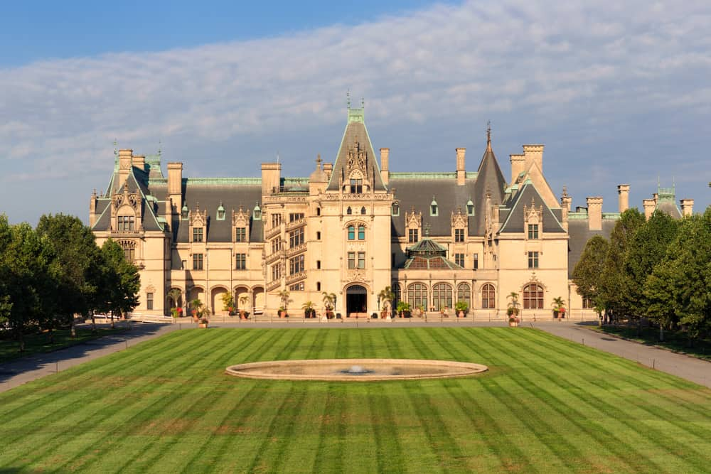 Biltmore, Asheville - best places to visit in USA in October