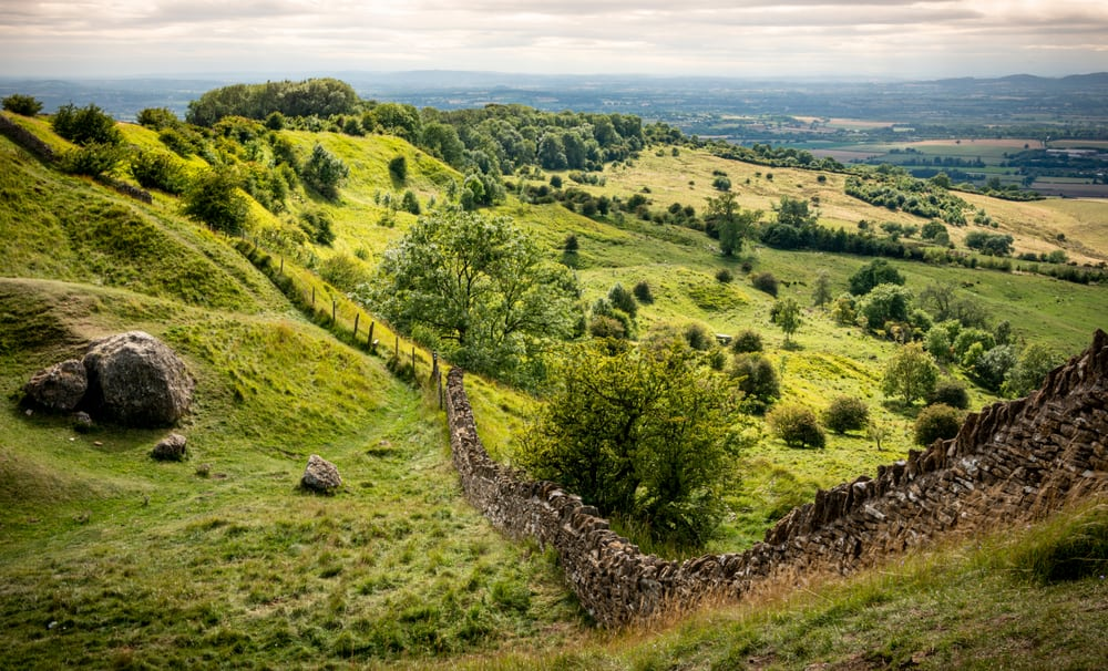 Bredon Hill Worcestershire