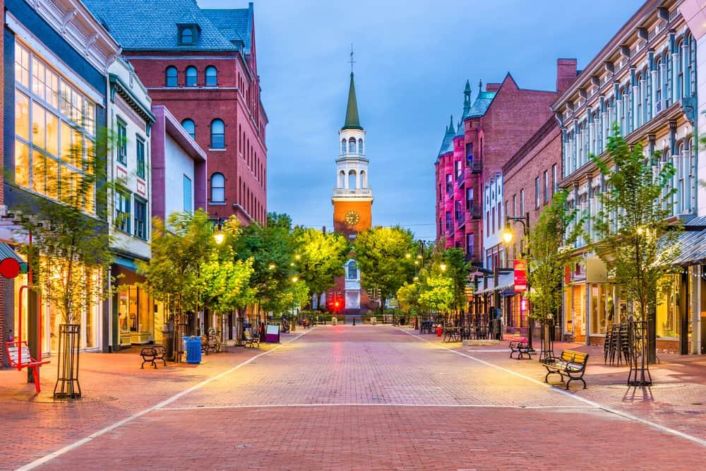 Burlington - best places to visit in Vermont
