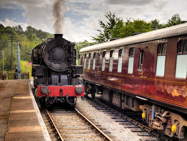Churnet Valley Railway Train