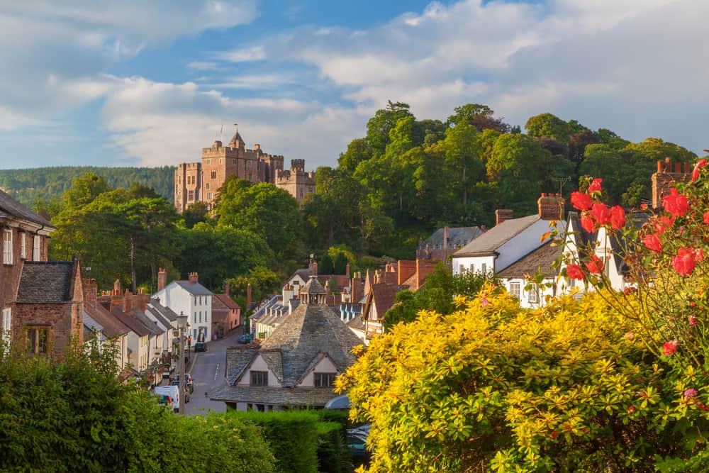 Dunster - beauty spots in Somerset