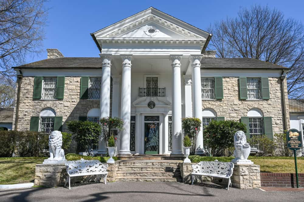 Graceland - top attractions in Tennessee