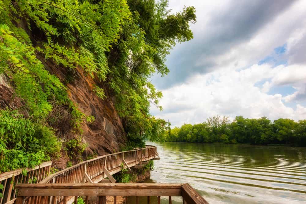 Ijams Nature Park boardwalk