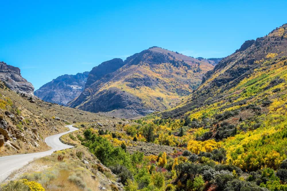 Lamoille Canyon Nevada