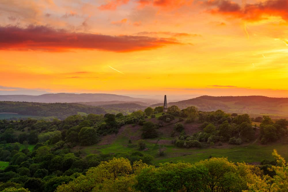Malvern Hills - places to visit in Worcestershire