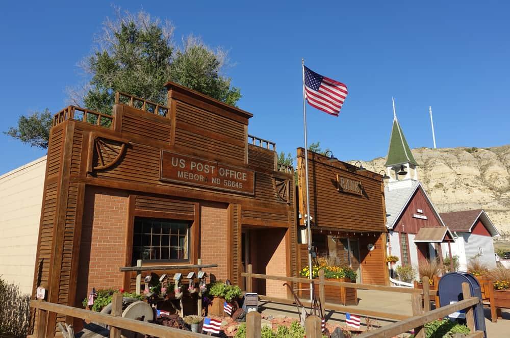 Medora - best places to visit in North Dakota