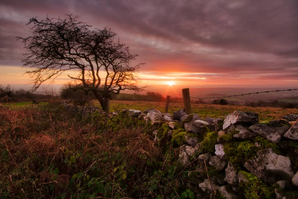 Mendip Hills - best places to visit in Somerset